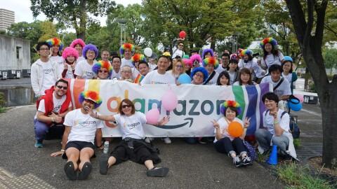 glamazon Japan Osakaが関西最大級のパレード、レインボーフェスタ!2019に参加