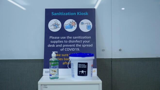 Vaccination drive in Amazon India