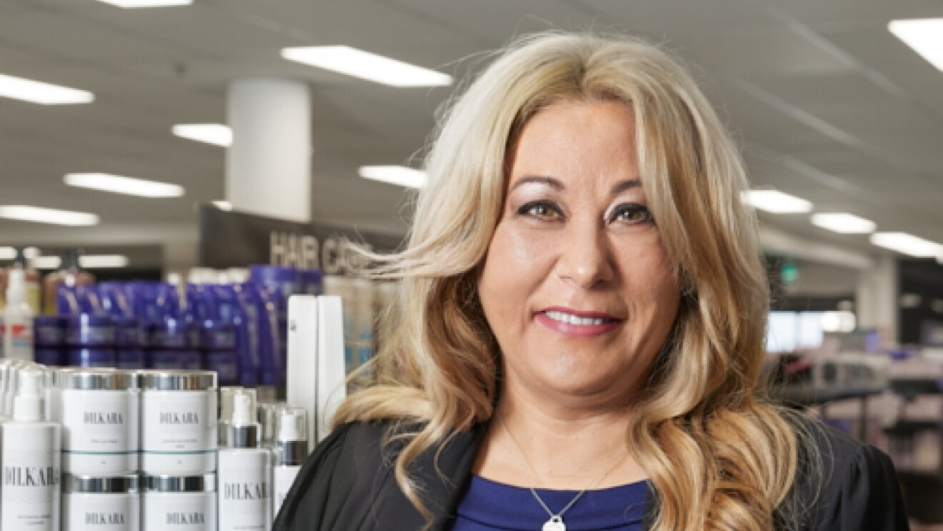 A headshot of Julie Okely, founder of  Dilkara Australia.
