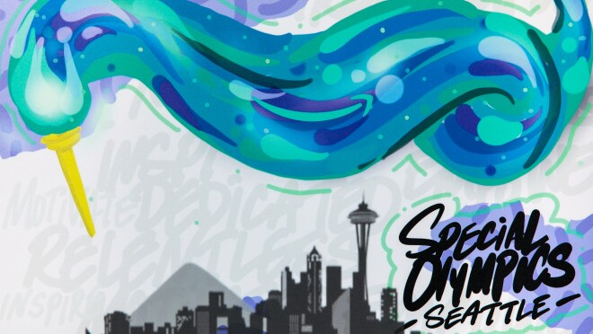 """Preview of artwork that will be on display as part of the """"Choose to Include"""" campaign."""