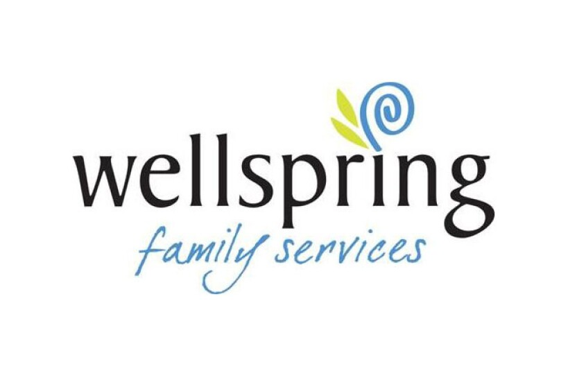 logo for Wellspring family services non-profit in Seattle