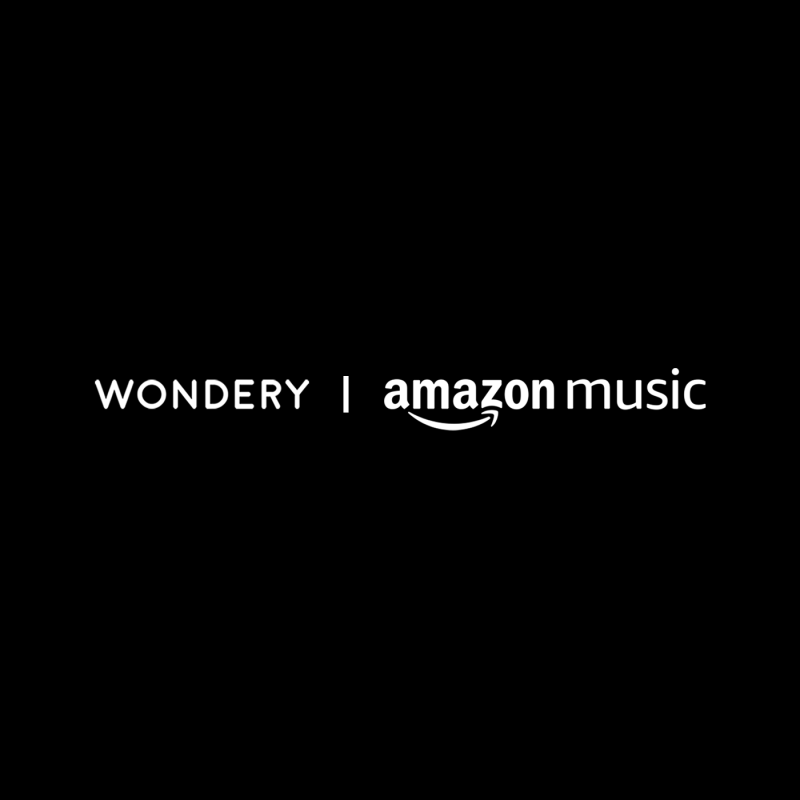 """Black background with white text that says """"WONDERY 