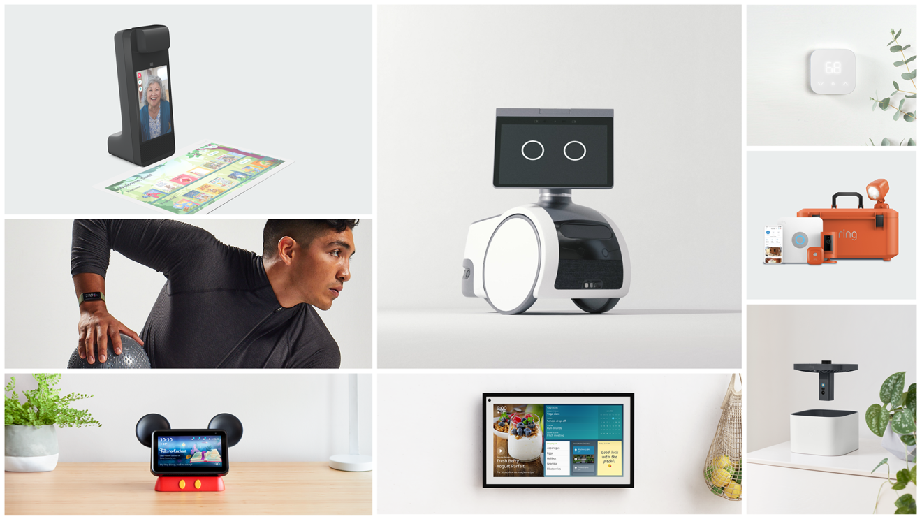 A series of Amazon devices announced on September 28, 2021