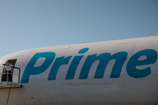 Prime Air aircraft on a runway