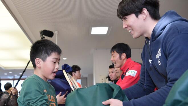 長野の子どもたちに笑顔を届ける