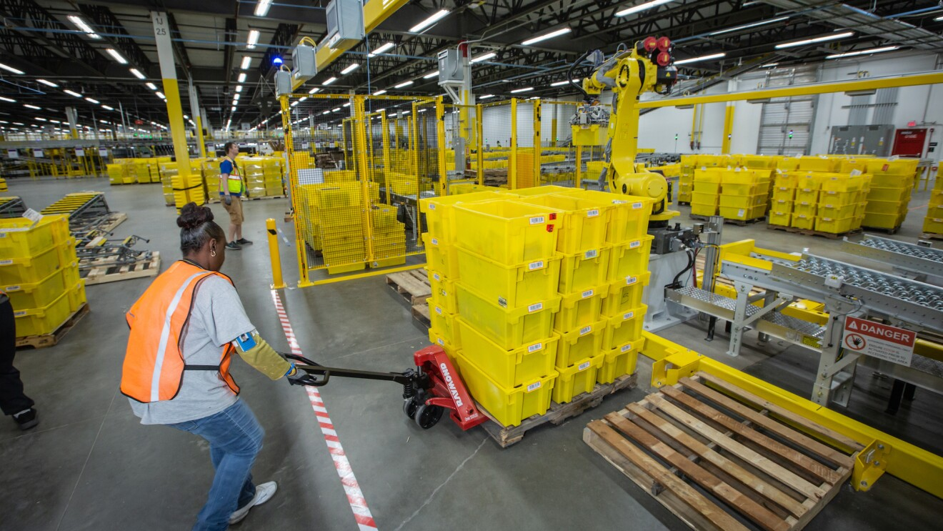 What an Amazon fulfillment center means to its community
