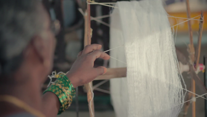 Reviving the Pochampally weave