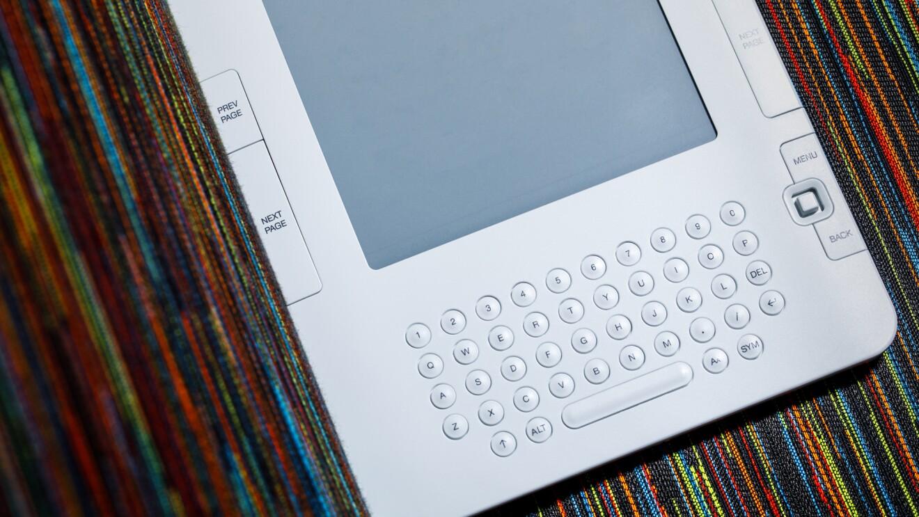 Generations of Amazon's Kindle