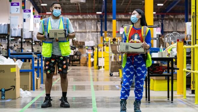 Amazon teams were PJammin this week
