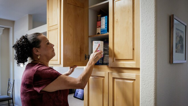 Customers are able to use their Echo device to identify products in their pantry and refrigerator.