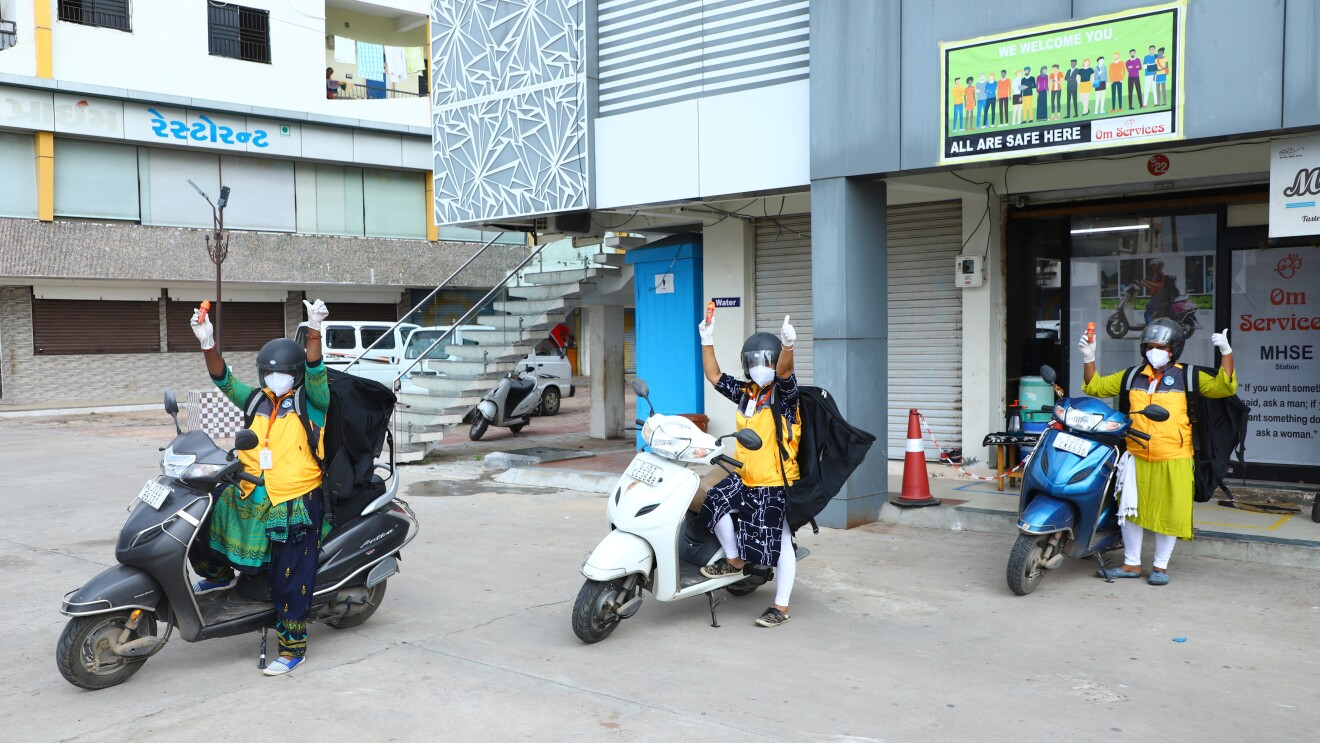 The Women Delivery Station in Kadi, which is around 50 Kilometers away from Gujarat's capital city of Ahmedabad.