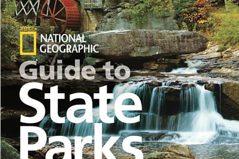 "Book cover for ""National Geographic Guide to State Parks of the United States and Canadian Provincial Parks"""