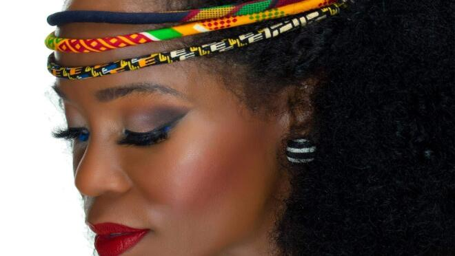 Handmade, African-inspired hair accessories by Cloth & Cord.