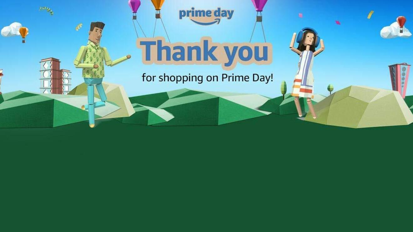 Thank You Prime Day Amazon India