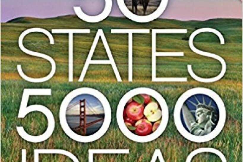 "Cover of the book, ""50 States, 5,000 Ideas"" by National Geographic's Joe Yogerst"