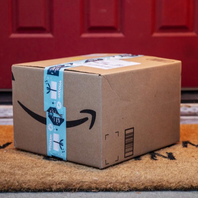 Box on door