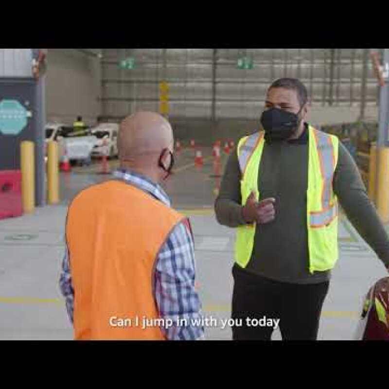 Aussies of Amazon -  Amazon Flex Delivery Partner, Samir
