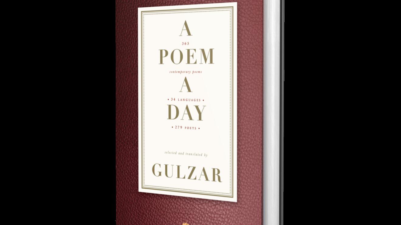 A poem A day by Gulzar