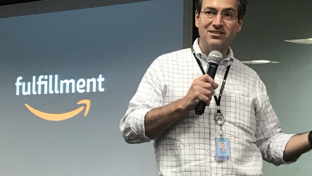 Dave Clark at Amazon India