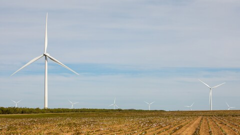 Amazon Wind Farm in Texas.