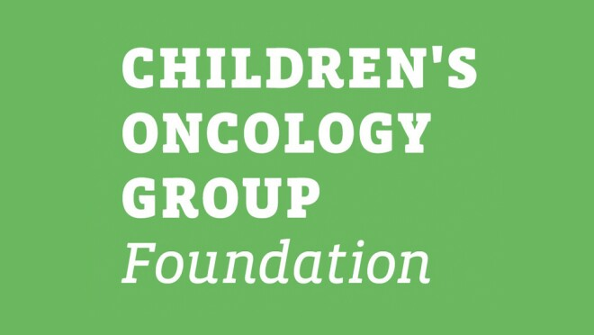 An image of the logo for the Children's Oncology Group Foundation