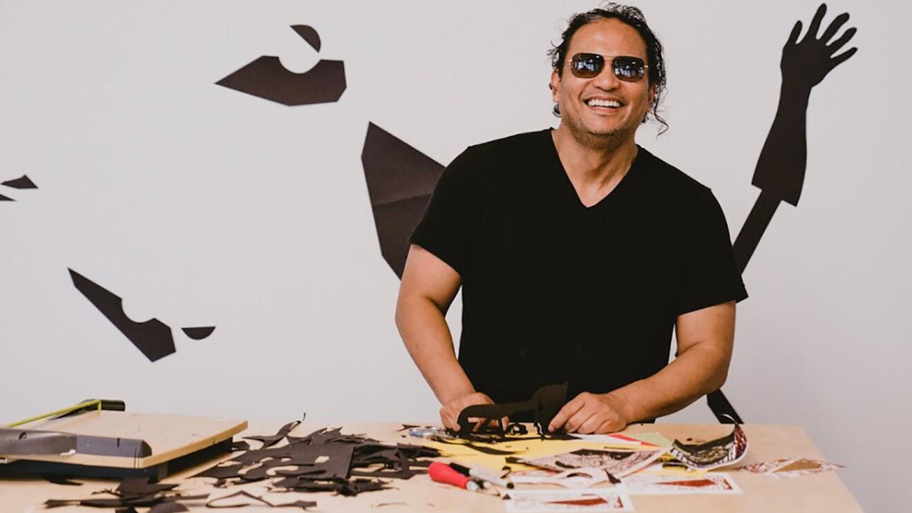 Amazon's artist in residence, Romson