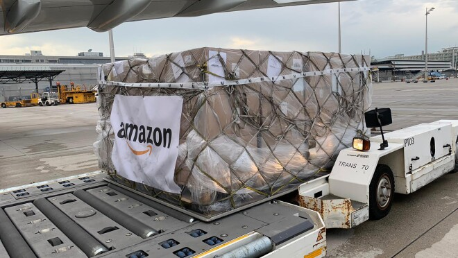 Amazon's disaster relief and response team prepared a shipment set for Nepal in response to a 1200% increase in COVID-19 positive cases.