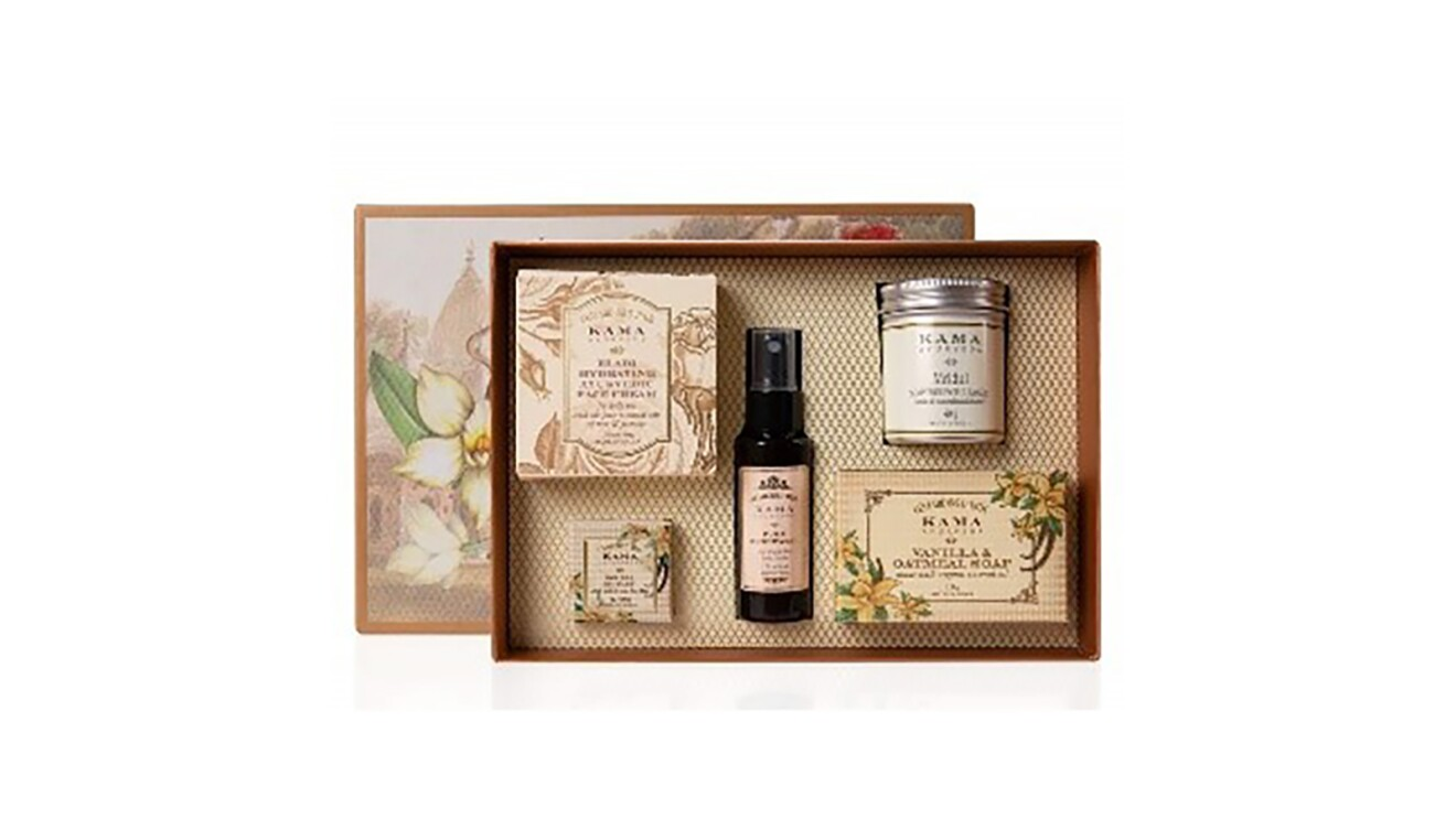 Natural beauty product featured on Amazon.in website