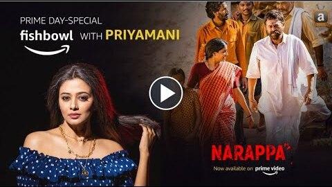 Amazon India Fishbowl with Priyamani
