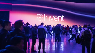 Amazon re:Invent conference in Las Vegas, on December 2, 2019