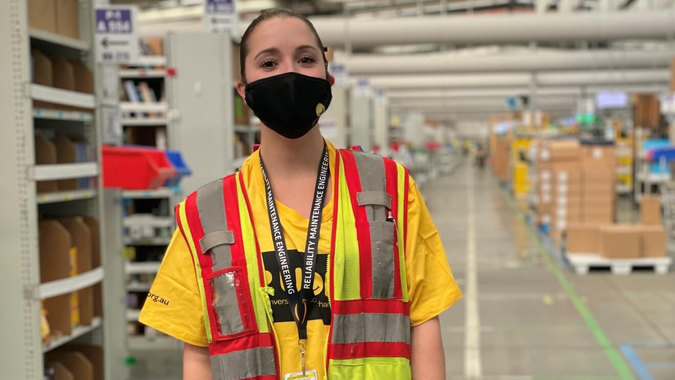 Georgina, Amazon Australia Operations Manager on RU OK? Day