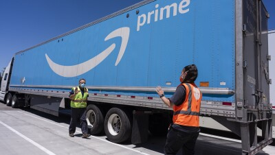 Amazon associates prepare and ship PPE to non-profits