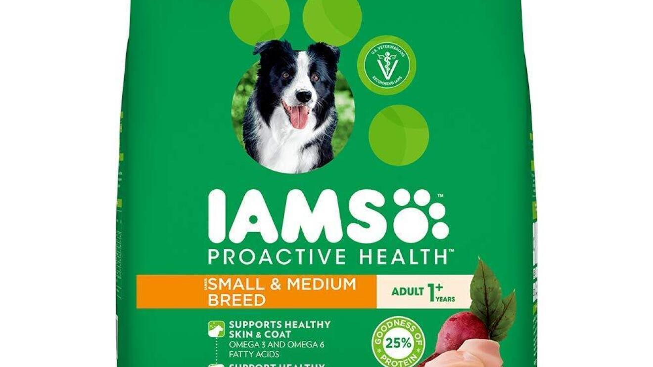 IAMS Proactive Health Adult Small & Medium Breed Dogs (1+ Years) Dry Dog Food image