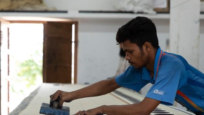 Making of Ajrakh
