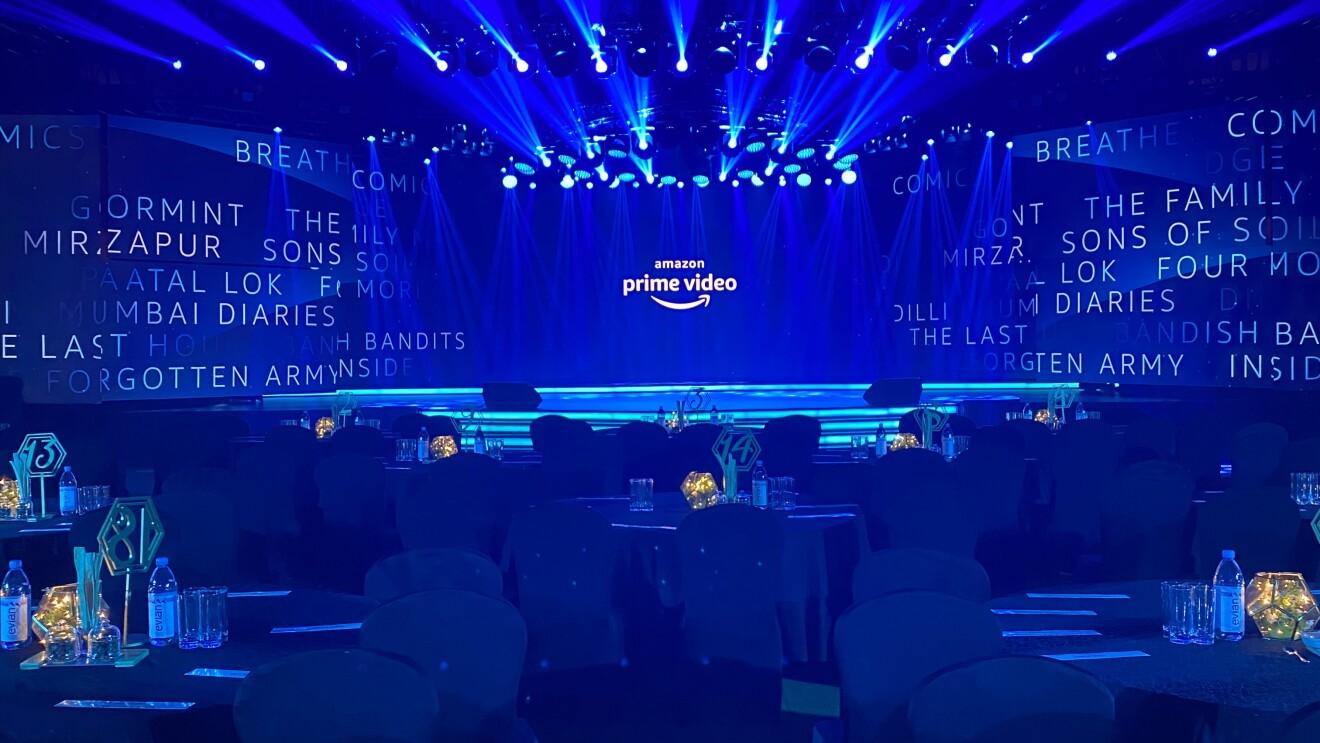 PV event Mumbai - stage shot