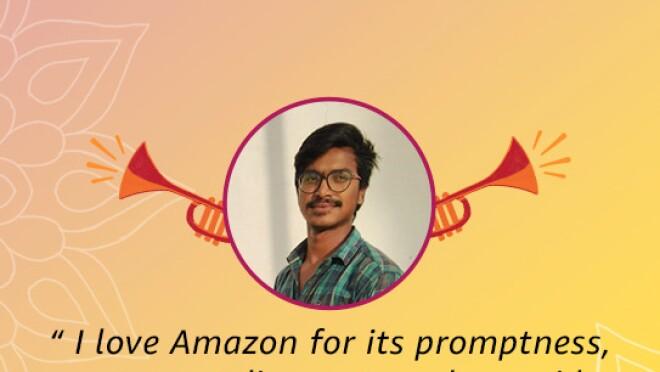 Thanks you customers, Amazon India