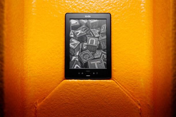 Amazon Kindle through the years