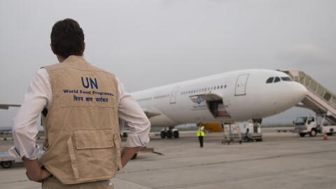 Humanitarian delivery of PPE and other COVID-19 supplies for Kathmandu