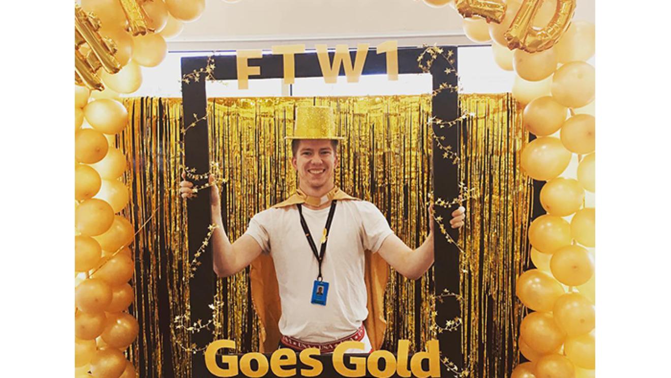「Amazon Goes Gold」キャンペーン