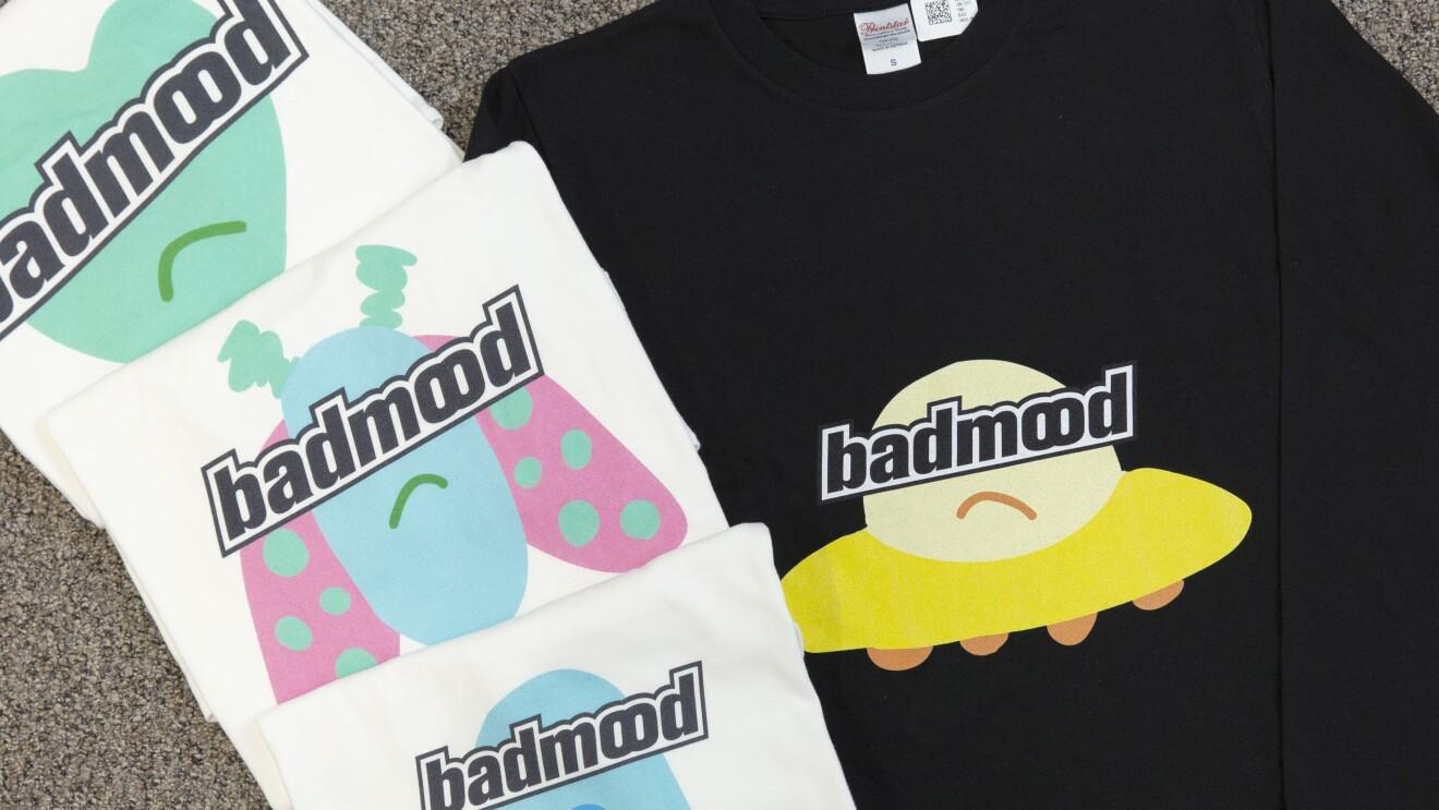 SEKAI NO OWARIボーカルFukaseさんがデザインしたBAD MOODのアイテムの一部