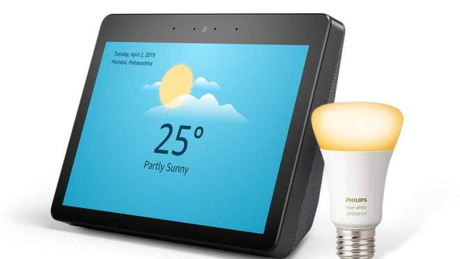 A picture of the Echo Show device