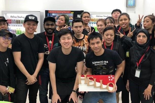 Amazon associates in Singapore (Prime Now) and Australia