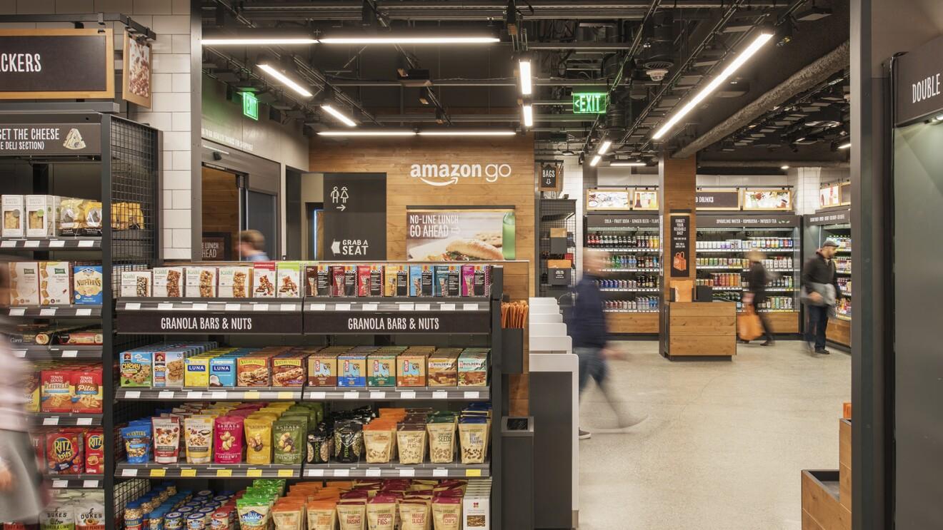 Amazon Go - 店内の様子
