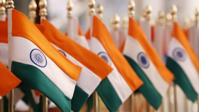 The India tri color