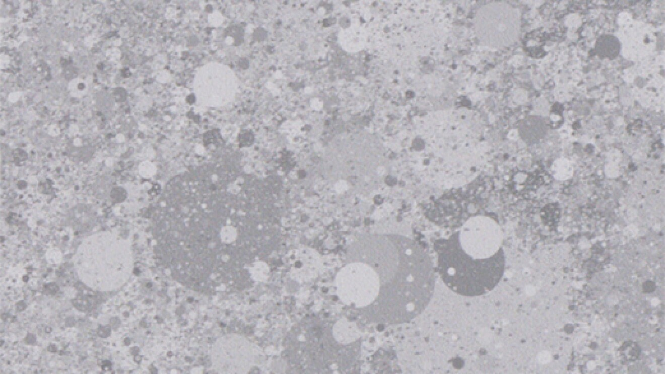 A gray speckled surface.