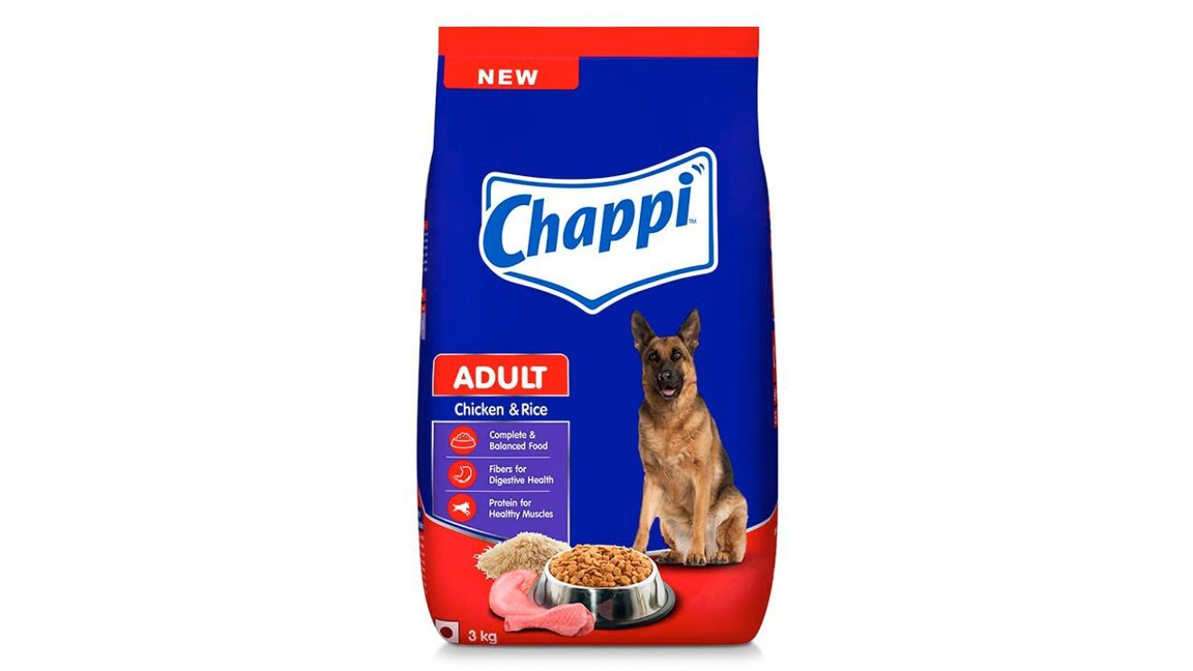 Chappi Puppy Dry Dog Food, Chicken & Rice image