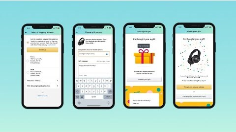 Amazon introduces new way to send gifts