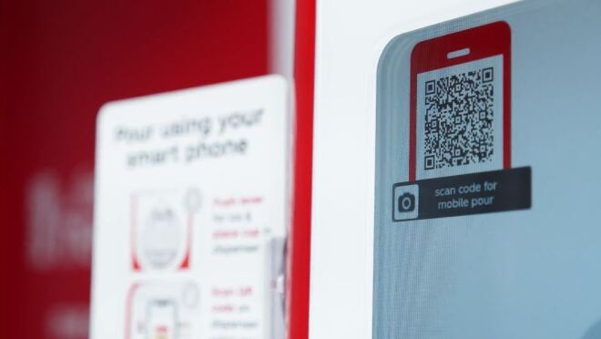 Coca-Cola Freestyle touchless experience built on AWS