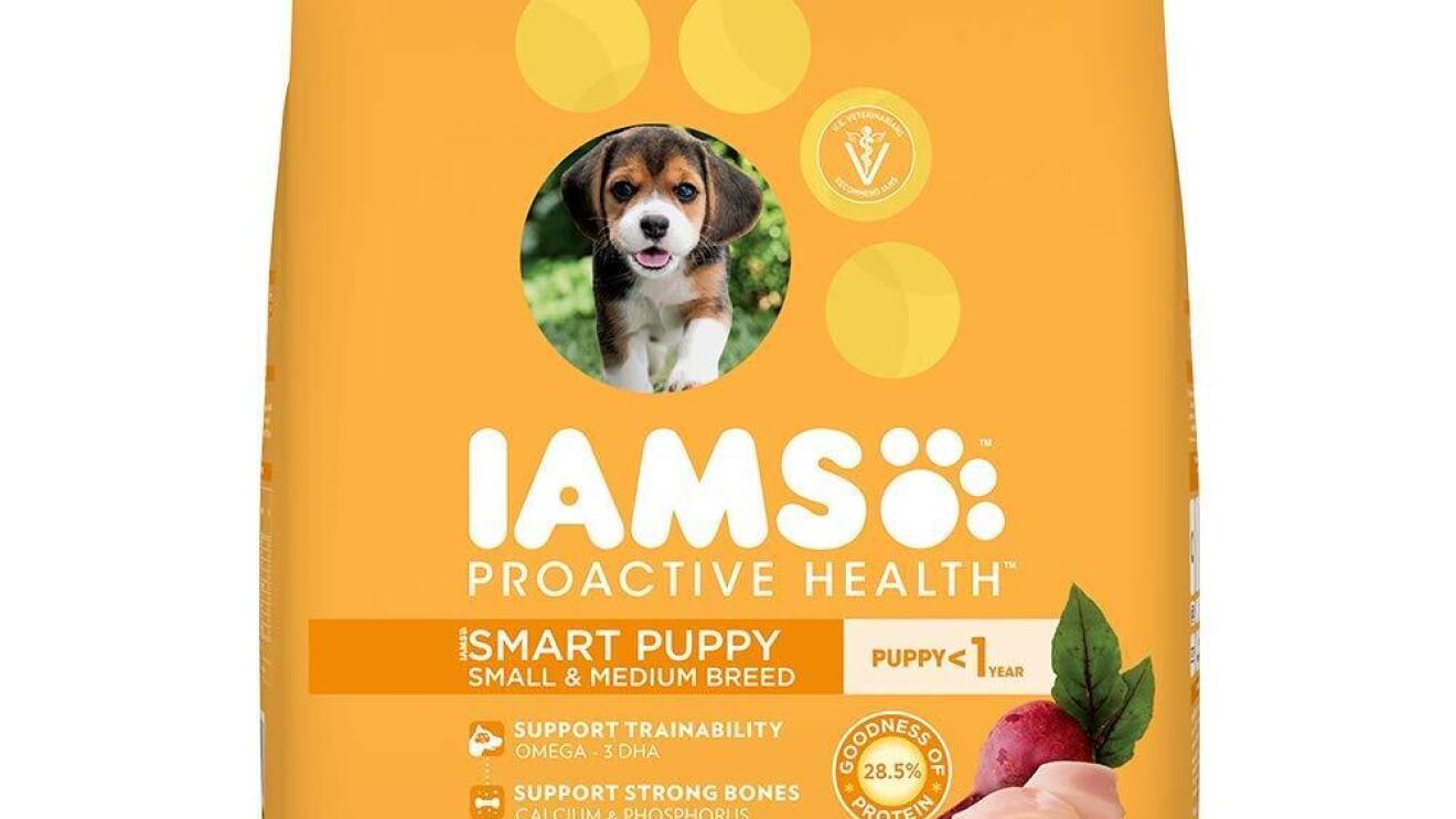 IAMS Proactive Health Smart Puppy Small & Medium Breed Dogs image