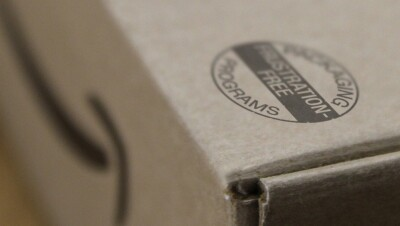 FFP Stamp on Amazon Box